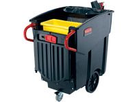 Rubbermaid Mobile waste collector 450L capacity