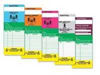 Scaffold Load Classification inserts (pack 50)