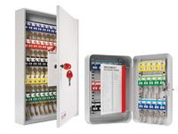 Secure Key Cabinets With Cylinder Lock - 20 to 600 Keys