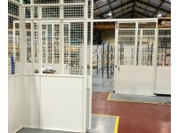 Mesh Steel Partitions