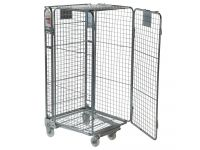 Security nestable roll cage container 1690mm high