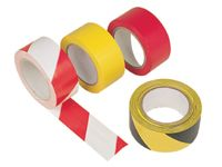 Proline Self adhesive floor marking tape, Red/White