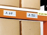 Self Adhesive Label Holders - 15 to 50mm High