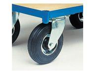 Fetra Shelf Trolley Pneumatic tyred Castor 200mm Dia.
