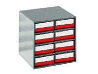 Small Parts Storage Bin Cabinets 8x 4020 Bins