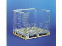 Stackable retainer for 1000x1200mm timber pallet