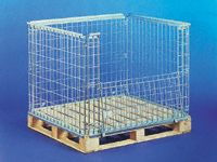Stackable retention units for 800x1200mm pallets