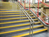 Stair Grip Yellow High Vis Nosing - 1 to 3m Strips