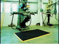 Standard Black Vinyl Open Weave Workshop Mats