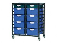 Standard Width Tray Double Shelving System 1035mm H