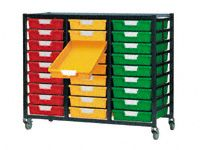 Standard Width Tray Triple Shelving System 1035mm H