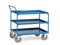 Fetra Steel workshop cart 1000x700mm, 3 trays