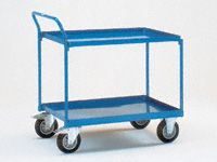 Fetra Steel workshop cart 850x500, 2 trays (1)