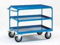 Fetra Steel workshop cart 850x500, 3 trays