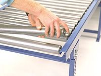 System 25 1.5m x 300mm Gravity Roller Conveyors