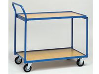 Fetra Table Top Cart 850x500mm L x W, 2 shelves