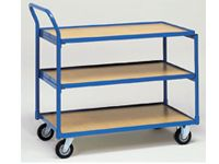 Fetra Table Top Cart 850x500mm L x W, 3 shelves