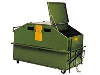 Tidy secure steel skip bin 1.0m3