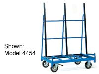 Trolley for sheet material, platform 2076x430