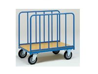 Fetra Tubular platform bale trolley 1280x800mm L x W