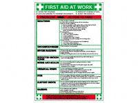 Wallchart: First Aid at Work