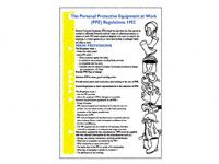 Wallchart: Personal Protective Equipment regs