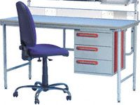 Workstation Double Drawer
