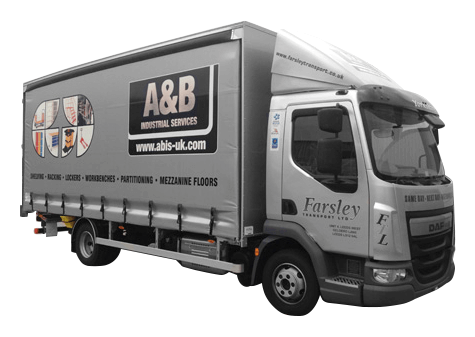 Abis Delivery Lorry